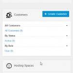 Mobile Layout ServerAdmin Home