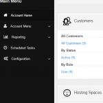 Displays the Mobile menu in mobile screen