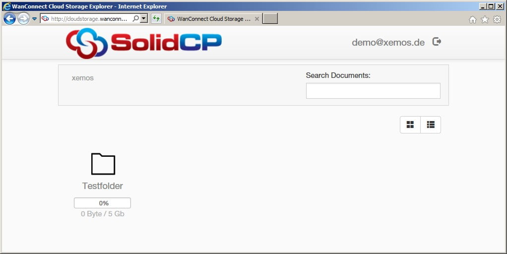 Error 500 Webdav Portal/Cloud Storage/Cloud Folders - SolidCP